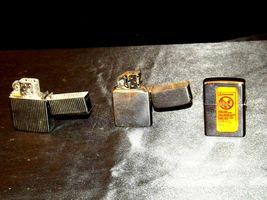 Three Vintage Lighters AA19-1675 image 5