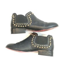 Betsey Johnson Women Size 6 Sadie Double Gore Chelsea Studded Booties $130 - £43.68 GBP