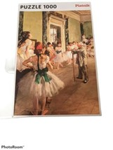 PIATNIK PUZZLE 1000 Pc The Dance Class Edgar Degas Made in Austria  - $14.50