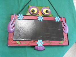 Great Collectible OWL Design TIN SIGN..........FREE POSTAGE USA - $19.39