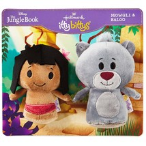 Mowgli and Baloo Hallmark itty bitty bittys Walt disney Jungle Book  Boy... - £27.42 GBP