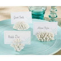 Seven Seas Coral Place Card or Photo Holder (Set of 48) - $82.45