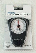 Samsonite Manual Luggage Scale for Travel Up To 80lbs  New Sealed - $12.22