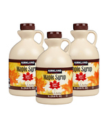 Canadian Maple Syrup KIRKLAND Signature 100% Pure Grade A Amber Maple Sy... - $24.46+