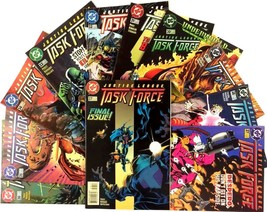 Justice League Task Force Comic Book Lot 11 Issue Run 27-37 DC VF 1st Print - $19.75