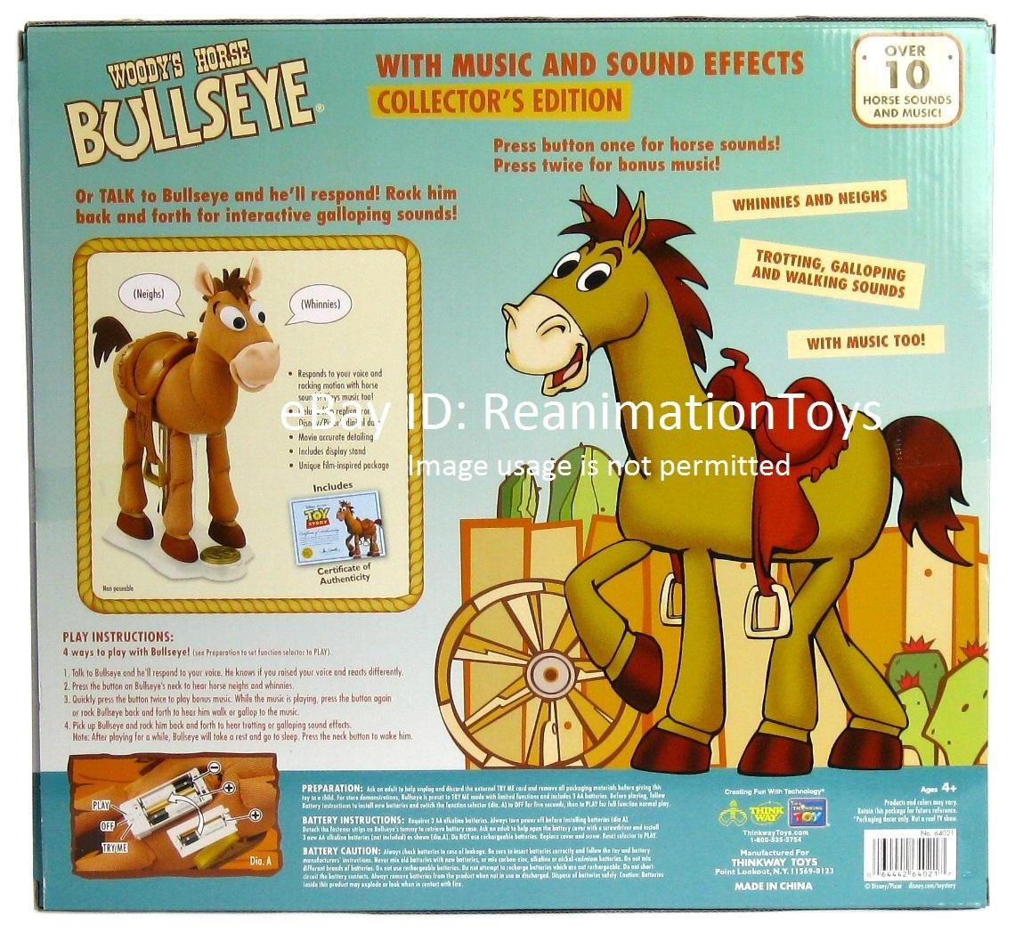 Disney Pixar Toy Story Signature Collection Woody Horse Bullseye Sounds New NIB