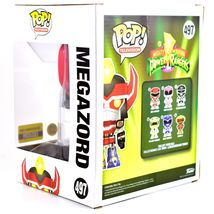 "Funko Pop Power Rangers 6"" Megazord Entertainment Earth Glow in Dark Exclusive image 3"