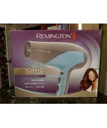 Remington D-3190 Ionic-Ceramic 1875 Watts Hair Dryer, Teal Blue/Grey - $46.10