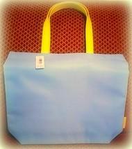 Clinique Light Blue Reversible Tote Bag New - $16.78