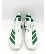 Adidas Adizero 8.0 Football Cleats '3-Stripe Life' White/Green [Size 12]... - $64.44