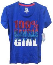 Kansas Jayhawks 100% Kansas Girl Bling Sequin Design Shirt Size M - NWT ... - €14,94 EUR