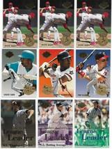 1994 Fleer Ultra Inserts 12 Card Lot R Johnson F Thomas & More - $3.85