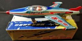 "1960's TIN LITHO TOY""MF103 SUPER SONIC JET PLANE"" FRICTION DRIVE~ORIGINA... - $107.91"