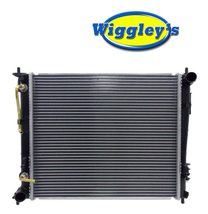 RADIATOR ASSEMBLY KI3010141 FITS 10 11 KIA SOUL 1.6 image 1