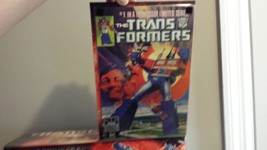 Transformers 25th Anniversary G1 reissue Optimus Prime new in box + DVD + comic - $150.00