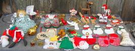 Lot of Vintage and Handmade Christmas Ornaments - $20.00