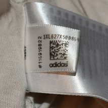 adidas Originals Women's Boyfriend Cream Off-White Trefoil T-Shirt Size S image 4