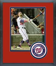 Bryce Harper 2018 MLB Home Run Derby 2018 MLB All-Star Game Matted/Frame... - $42.95