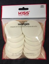 KISS NEW YORK 12 PACK WEDGES FOR USE WITH LIQID FOUNDATION  WED04 - $2.96