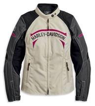 Harley-Davidson Women's Killian Motorcycle Jacket 97108-20VW Size Large NEW - $241.88