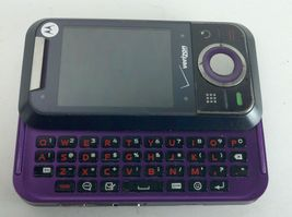 Motorola Verizon Model Rival A455 Purple & Black Cell Phone with Page Plus image 3