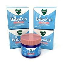 4 - Vicks VapoRub BabyRub Soothing Ointment w/ Lavender 1.76 oz Lot of 4... - $18.66