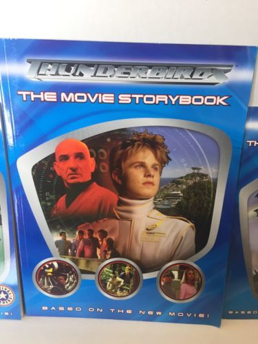 Thunderbirds The Movie Official Book HUGE Lot Making The Movie Annual 2005 More