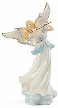 "Lenox Lighted Heavenly Harmony Angel with Flute Blonde 14.5"" Christmas NEW - $108.90"
