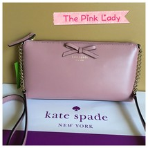 NWT KATE SPADE %Authentic DUSTY PEONY Sawyer ST Declan Chain Crossbody Bag  - $89.99