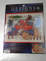 """Signature Series Designs, Noah's Ark hometown counted cross stitch 11"""" x... - $7.99"""