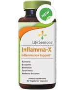 LifeSeasons  - Inflamma -X   -  60 Capsules  - $21.99