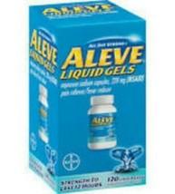 Aleve Liquid Gels 220 mg Naproxen Sodium 120 Gel Caps - $15.76