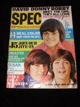 16 Spec Magazine November 1971 Donnie Osmond David Cassidy Bobby Sherman... - $16.99