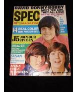 16 Spec Magazine November 1971 Donnie Osmond David Cassidy Bobby Sherman... - $18.99