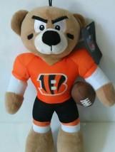 "GoodStuff Cincinnati Bengals 12"" Solid Plush Bear - NFL 2008 - $19.99"