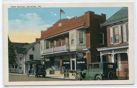 Post Office Cars Palmyra Pennsyvania 1920s postcard - $6.44