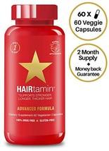 HAIRtamin Biotin Hair Growth Vitamins - Best Hair Skin and Nails Vitamins, All N - $54.78