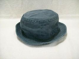 NEW DARK GREEN WASHED COTTON FISHING BUCKET HAT CAP LARGE NISSUN CAP - $6.29