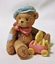 Cherished Teddies HARRISON We're Going Places Bear With Toy Wagon 911739... - $12.99