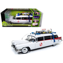 1959 Cadillac Ambulance Ecto-1 From Ghostbusters 1 Movie 1/18 Diecast Mo... - $108.89