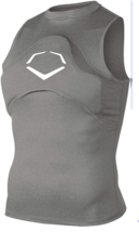 EvoShield Youth Gel-to-Shell Sleeveless Chest Guard Shirt Youth Small 24... - $38.79