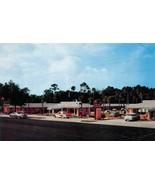 ORMOND, Florida FL   THOMAS MOTEL & RESTAURANT  50's Cars  ROADSIDE  Pos... - $6.84