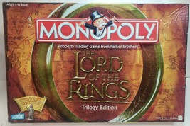 Monopoly Lord Of The Rings Trilogy Edition Board Game 2003 Missing Bonus... - $18.49