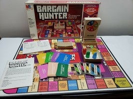 Bargain Hunter Board Game (1981) Milton Bradley Smart Shopping Game - Co... - $15.83