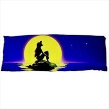 dakimakura body hugging pillow little mermaid ariel infant geek nerd cover  - $36.00