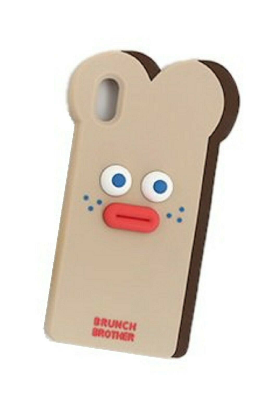 Brunch Brother iPhone XS MAX Silicon Case Cover Protector (Toast)