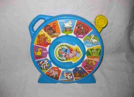 Great 1989 MATTEL See N Say The Farmer Says Animal Sounds Toy - $33.68