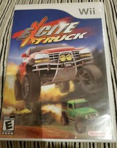 Excite Truck Video Game with Disc, Case & Manual (Nintendo Wii, 2006) - $12.59