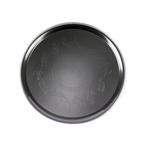 Black 22 Inch Deli Mate Plastic Trays/Set of 12 - $118.66