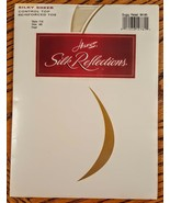 Hanes Silk Reflections Pantyhose Pearl size AB Silky Sheer Control Top H... - $14.82